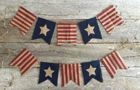 patriotic decorations creative handmade 4th of july banners as patriotic decorations