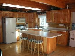 kitchen appliances ideas cheap backsplash tile creamy wall paint color rattan dining chairs