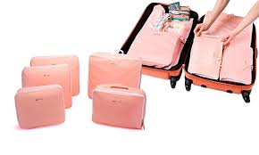 travel organizer images 5 piece travel organizer set groupon goods jpg