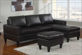 Black Microfiber Sectional Sofa With Chaise Living Room Magnificent Black Modern Leather Sectional Brown