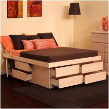 King Platform Bed Drawers Plans by Bedroom Drawers Storage Image Of Good King Platform Twin