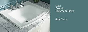 Rectangular Drop In Bathroom Sink by Drop In Bathroom Sinks Akron Dropin Self Rimming Bathroom Sink