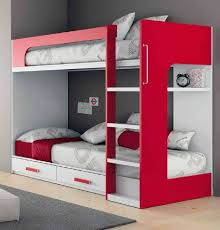 Modern Bunk Beds For Boys Creative Beds With Storage For Small Room Modern Bunk Bed