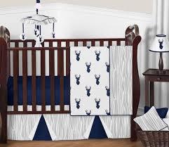 woodland deer baby bedding 11pc boys crib set by sweet jojo