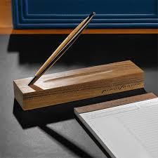 napkin cambiano inkless pen desk set levenger