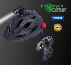 Motorcycle Helmet Lights Opticfire Micro Q5 Cree Bike U0026 Cycle Helmet Light Set Opticfire