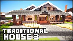 minecraft traditional house 3 youtube