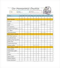 maintenance checklist template u2013 15 free word excel pdf