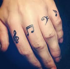 55 finger tattoos and design