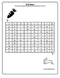 help the rabbit to take carrot alphabet maze worksheet activities