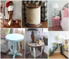 diy coffee table ideas 25 diy side table ideas you will admire