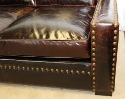 Used Leather Sofa by Lovely Nailhead Leather Sofa With Used Leather Couches Used