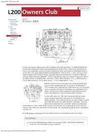 o motor 4d56 l200 owners club pdf