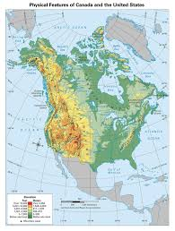 Geographical Map Of South America maps of north america and north american countries political