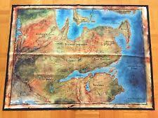 thedas map cloth map in merchandise ebay