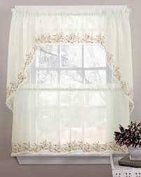 Lorraine Curtains Sheer Kitchen Curtains Best Sheer Curtains Tiers Swags