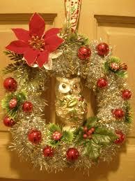 owl wreath christmas mine pinterest wreaths owl and owl wreaths