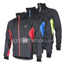 best softshell cycling jacket arsuxeo cycling jacket men u0027s bike jacket fleece jacket top thermal