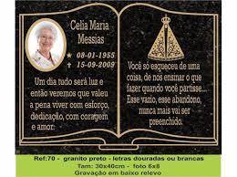 New Placas lápides para túmulos,jazigos,cemitério em Brasil [SERVIÇOS  @BQ33