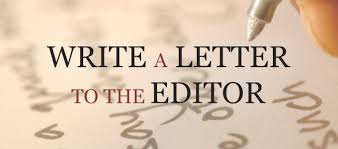write a letter to the editor of your local paper republican
