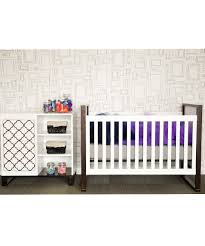 Convertible Crib Changer by Babyletto White U0026 Espresso 3 In 1 Convertible Crib U0026 Changing