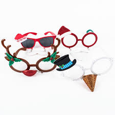 christmas glasses novelty christmas glasses 4 options card factory
