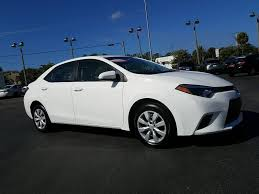 certified pre owned 2016 toyota corolla le px1132 toyota of