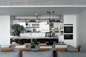 open shelves kitchen design ideas open air london apartment open shelving and apartments