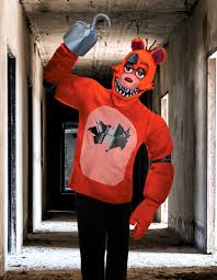 foxy costume five nights at freddy s costumes halloweencostumes