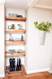 How To Hang Shelves by How To Hang A Wooden Shelf Shelf Ideas Offices And Kunst