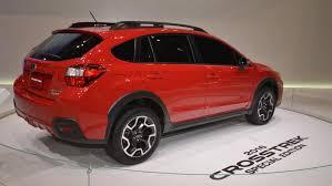 custom subaru crosstrek 2016 chicago auto show subaru xv crosstrek special edition