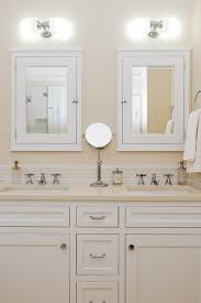 Double Vanity What To Do With Mirrors And Lighting - Bathroom cabinet lights 2