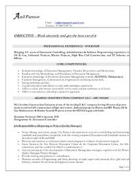 sle cv for document controller document control administrator sle resume document control