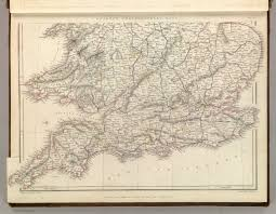 Map Of Southern Wisconsin by England And Wales Railway Map Southern Half David Rumsey