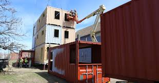 shipping container architecture information repository his three