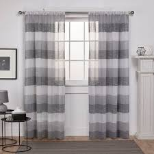 Grey And White Striped Curtains Grey White Striped Curtains Target
