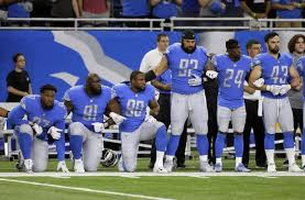 ask the detroit lions how much it costs to kneel ny daily news