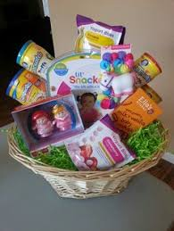 pre made easter baskets for babies baby s easter basket holidays easter baskets