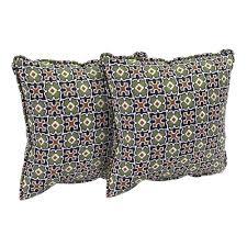 Fall Outdoor Pillows by Hampton Bay Fenton Outdoor Throw Pillow 2 Pack Fentp 2pk The