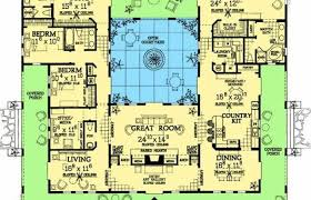style house plans with courtyard house plans mediterranean style greatroom courtyard one