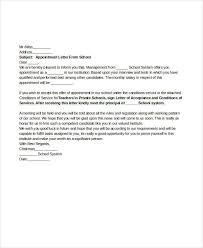 49 appointment letter examples u0026 samples