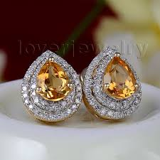 citrine earrings best citrine earrings photos 2017 blue maize