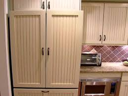 fridge that looks like cabinets installing refrigerator panels video diy