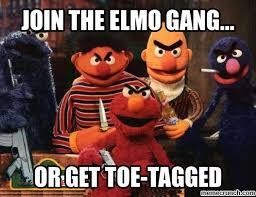 Elmo Meme - gang