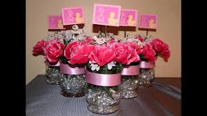 Baby Shower Center Pieces by Homemade Baby Shower Decorations For Girls Decorating Of Party