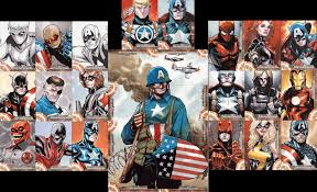 captain america sketch cards by lazeedog on deviantart