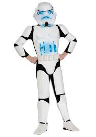 Light Halloween Costumes by Child Light Up Stormtrooper Costume