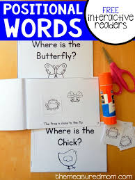 best 25 positional words kindergarten ideas on pinterest