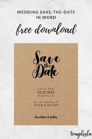 8 best wedding save the date templates images on pinterest
