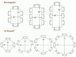 what size centerpiece for 60 round table 16 best dining room size and dimensions images on pinterest house